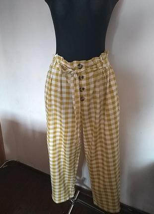 Мегастильні бавовняні брюки primark 18uk
