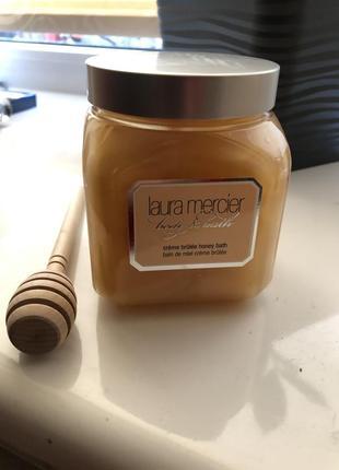Медовая пеня для ванны laura mercier