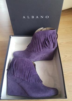 Шикарные ботильоны albano