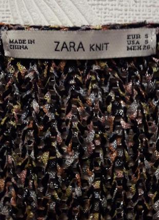 Ажурный свитерок-кольчуга, 46-48-50, хлопок, полиэстер,  zara