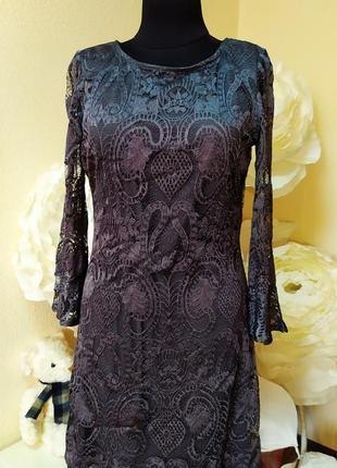 Гипюровое платье вискоза