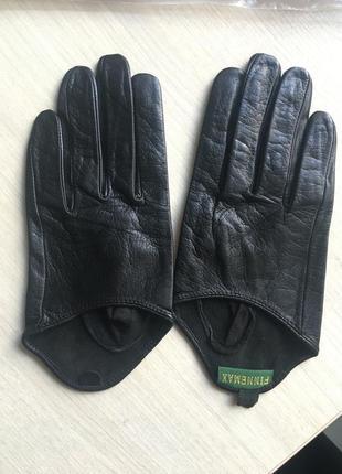 Кожаные перчатки из нежнейшей лайки