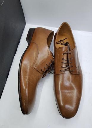 Мужские классические итальянские весенние коричневые туфли дерби делового стиля primosole