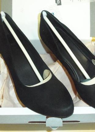 Туфли замшевые р.38
