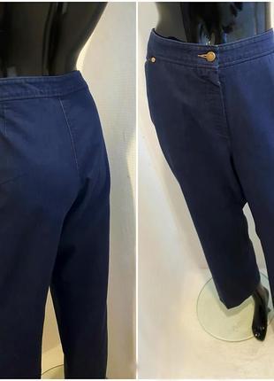 Джинсы, коттоновые прямые брюки.,большой размер