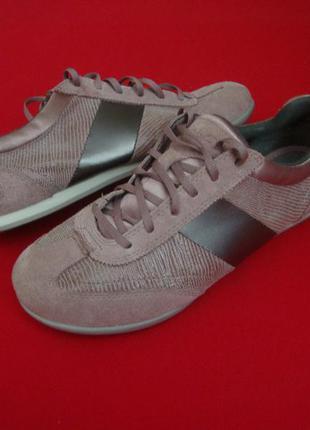 .туфли кроссовки clarks натур замша 39 размер