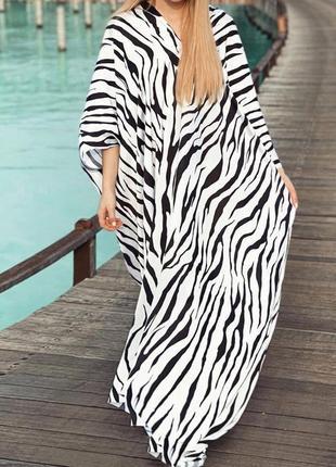 Атласная туника платье на пляж, для дома