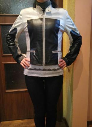 Косуха куртка кожаная италия mephisto