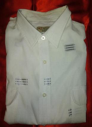 Нарядная  рубашка 100 % коттон / есть нюансы
