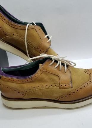 Мужские кожаные туфли броги ted baker