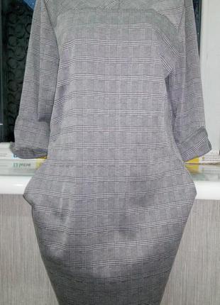 Красивое новое платье р.хл (50+/-)