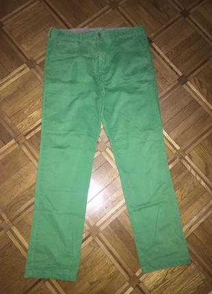Яркие плотные приятные штаны под джинсы 50-52р