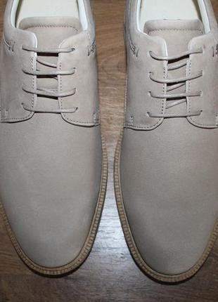 Кожаные туфли ecco vitrus ii