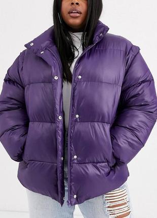 Дутая куртка жилетка