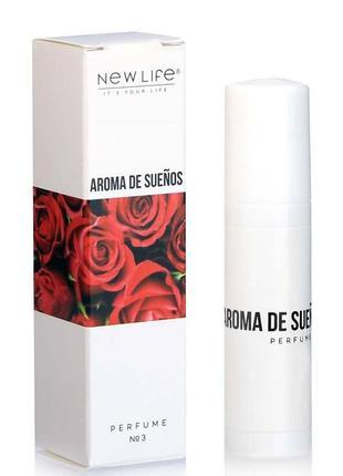 Духи масляные №3 aroma de sueños (аромат мечты)