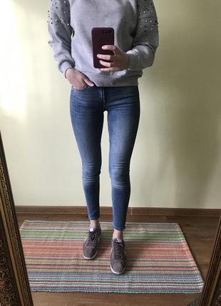 Круті джинси скіні скини zara 34 36