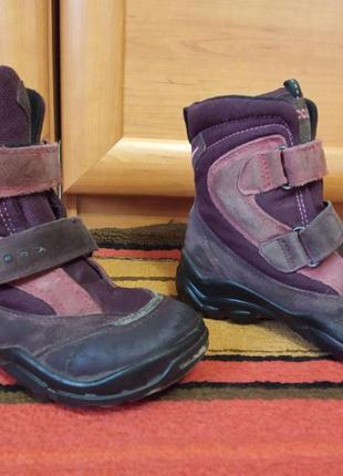 Ботинки, сапоги демисезонные детские ф.ecco 31 размер стелька 20 см.