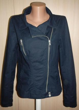 Льняной жакет куртка marks & spencer p.8