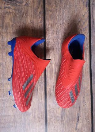 Копачки, бутсы adidas x 18+ fg / 34 размер