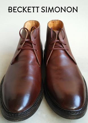Ботинки-чукка beckett simonon