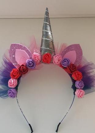 Обруч ободок единорога пони сумеречная искорка twilight sparkle