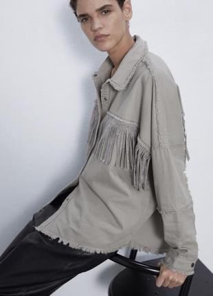 Рубашка - куртка zara