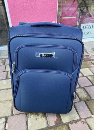 Чемодан,валіза,текстильный чемодан fly текстиль ткань