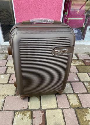 Чемодан ,валіза,дорожная сумка на колёсах ,поликарбонат +абс ,польский fly