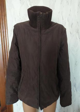 Куртка-жилетка 2 в 1