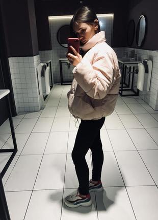 Дутая стильная куртка