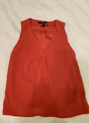 Красная блузка forever 21