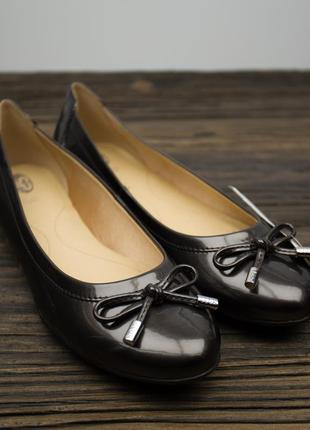 Распродажа!!!  женские бронзовые балетки туфли geox respira оригинал р-37