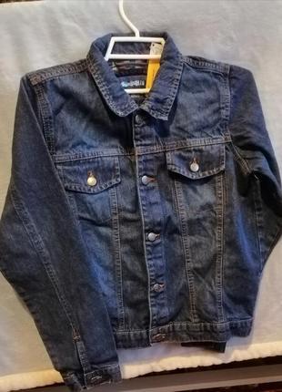 Джинсовый пиджак, джинсовая куртка на мальчика