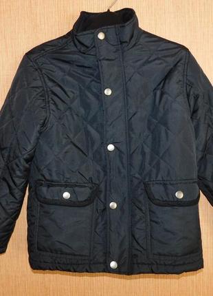 Фирменная куртка демисезонная cubus as на 7-8 лет, рост 128 см