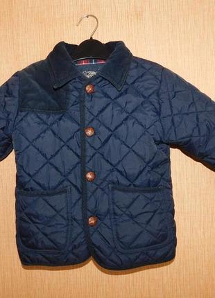 Классная демисезонная курточка next на 3-4 года рост 104 см