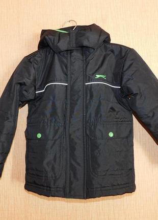 Суперовая куртка демисезонная slazenger на 2-3 года