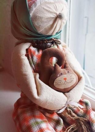 Подарок оберег кукла мотанка декор этно ручная работа (этника этнический стиль )