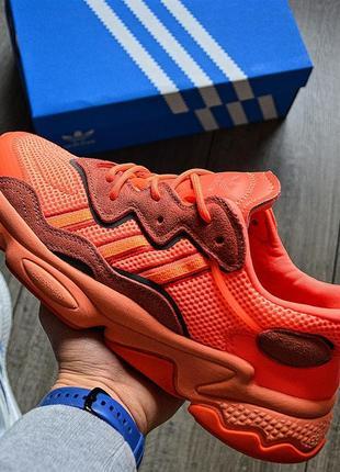 Adidas ozweego semi coral мужские кроссовки адидас озвего