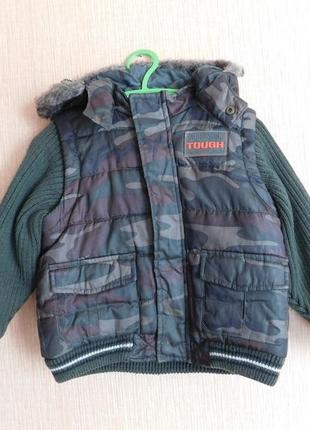 Демисезонная куртка next 2-3 г. рост 98 см