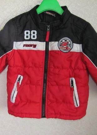 Классная куртка демисезонная roary 1.5-2 года