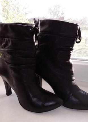 Сапожки ботинки деми 39р
