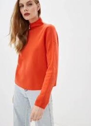 Яркий кашемировый свитер, гольф, водолазка от люксового бренда ftc.