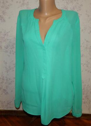 Warehouse блузка шифоновая стильная модная р12