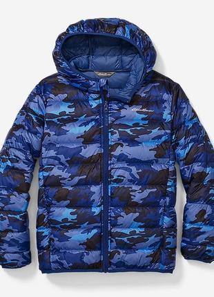 Детская ультралегкая куртка для мальчиков eddie bauer