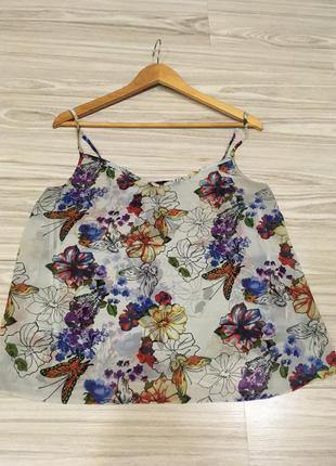 Блуза в цветочный принт atmosphere of