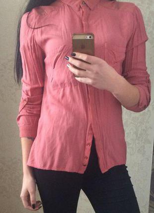Красивая рубашка от bershka