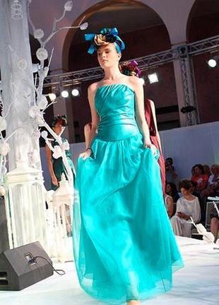Уникальное дизайнерское платье с подиума aina gasse {платье на вечеринку или выпускной}