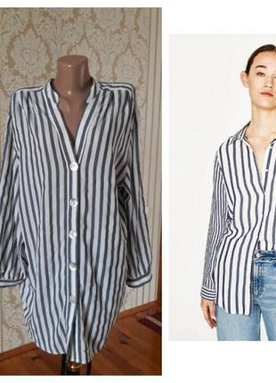 Стильная блузка туника в принт