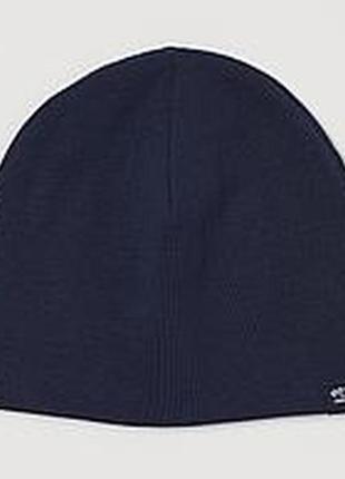 Детская двустороння спортивная шапка шапочка nike  синяя