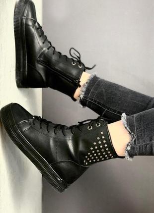 Ботинки, высокие кеды